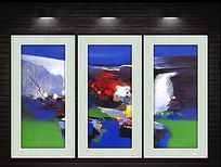 现代家居抽象装饰画