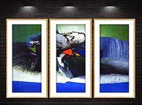 现代文化抽象装饰画