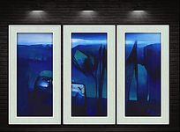 现代艺术创意抽象油画