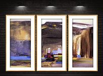 现代艺术油画装饰画