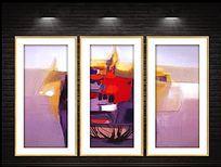 现代油彩艺术抽象装饰画
