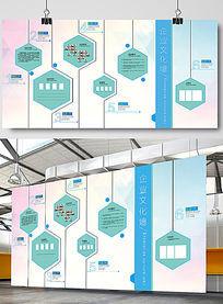 创意企业文化墙