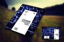电子产品商务封面