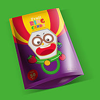 小丑戒指糖果包装袋