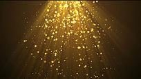 金色光线视频素材