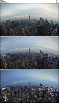 纽约延时白天夜晚实拍视频
