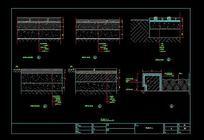 地面铺装通用节点图 CAD