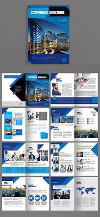 国外风格商业科技产品品牌画册