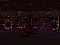 环形LED电子屏舞台