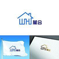 简约地产logo