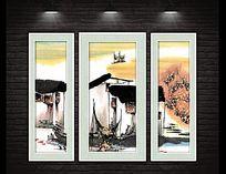 新中式水墨江南国画