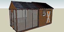 阳光小木屋的SU模型