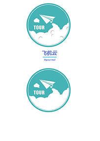 纸飞机logo设计