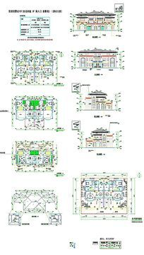 CAD别墅建筑图