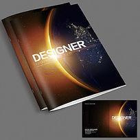 大气宇宙画册封面设计