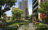 高层住宅景观绿化