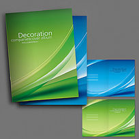 简单商务画册封面设计