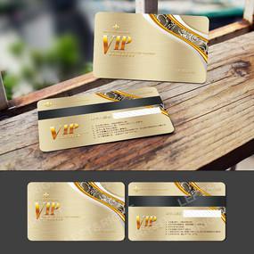 金色浮雕VIP卡