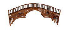 木结构景观桥模型 skp