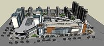 商业街概念设计全模