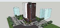 小高层建筑模型