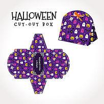 紫色万圣节手提袋