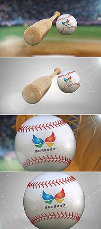 ae棒球运动比赛片头模板