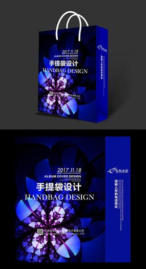 创意珠宝展览手提袋设计图片下载