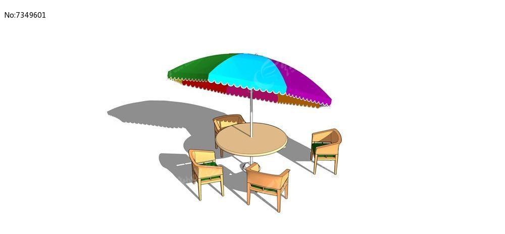 沙滩图片座椅skp素材下载_室外家具设计字体笨字模型v沙滩图片