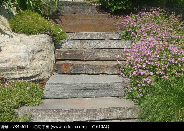 石板台阶意向jpg素材下载_铺装设计图片