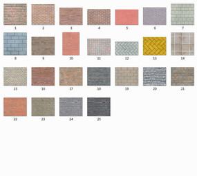 精品3d材质贴图-墙面、文化石