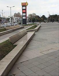 广场大型标志牌
