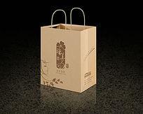 睡美人手提袋包装设计