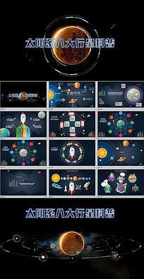 宇宙太阳系科普教育课件动态PPT