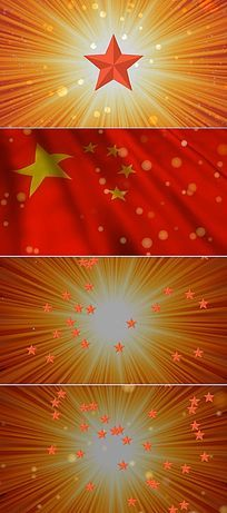 红星闪闪背景图片 红星闪闪背景设计素材 红动网