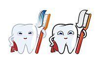 卡通牙齿形象设计