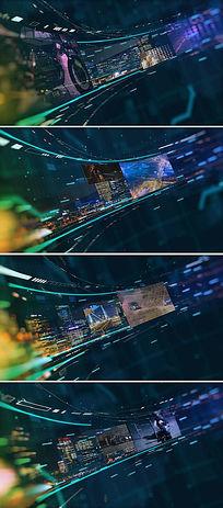 led大屏视频或图片展示ae模板
