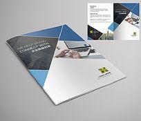 几何图形企业画册宣传册封面设计