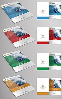 商务公司企业画册宣传册封面设计
