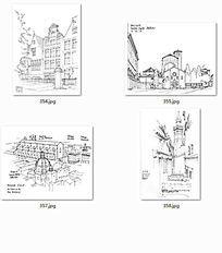 国外建筑师手绘