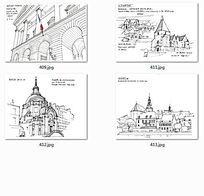 国外建筑师手绘建筑图 JPG