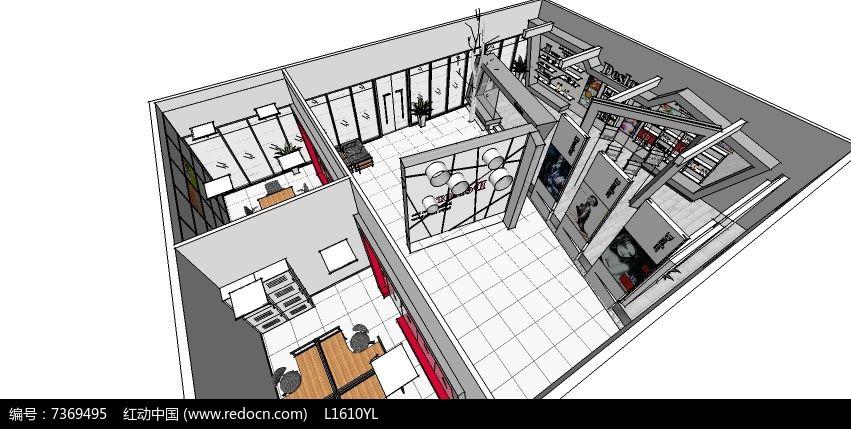 化妆品展厅大型烘干房的建造设计图图片