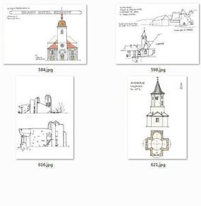 建筑图纸国外设计师手绘