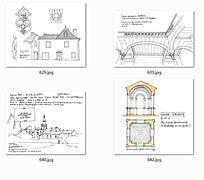 建筑图纸国外设计手绘