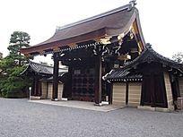 木质古建大门 JPG