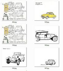 汽车手绘图 JPG