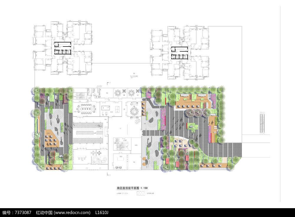 商业广场PSD平面设计图片