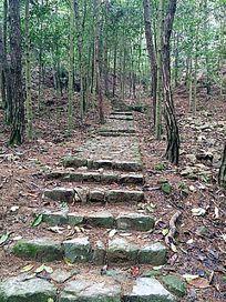 山间石砌台阶 JPG