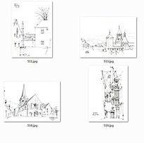 特色建筑图纸欧式风格