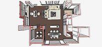 现代豪华室内家装